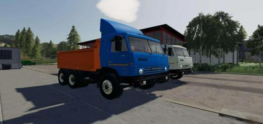 Photo of FS19 – Kamaz 53212 Plus Semi V1.0