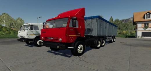 Photo of FS19 – Kamaz 53212 + Semi Römork V1.0.0.3
