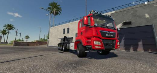 Photo of FS19 – Man Tgs 18.500 Hooklift V1