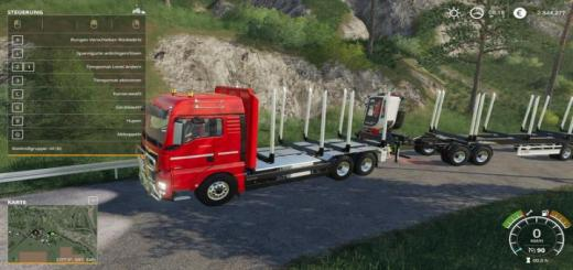 Photo of FS19 – Man Tgx Holz Lkw V1