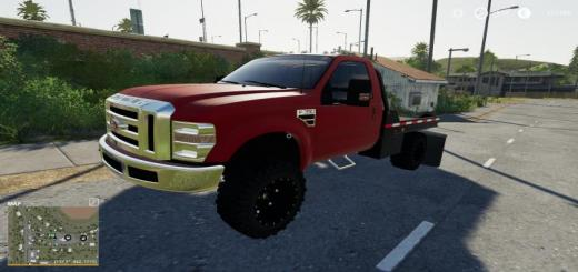 Photo of FS19 – 2010 F350 Regcab Flatbed V1