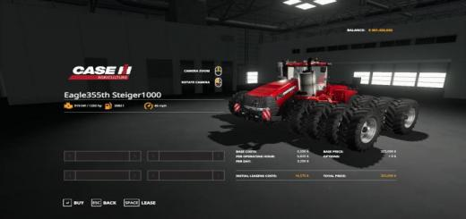 Photo of FS19 – Case Steiger 1000 V1.0