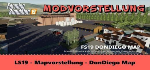 Photo of FS19 – Dondiego Çiftlik Haritası V1.3