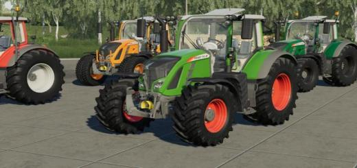 Photo of FS19 – [Fbm Team] Fendt Vario 700 V1.0.0.1