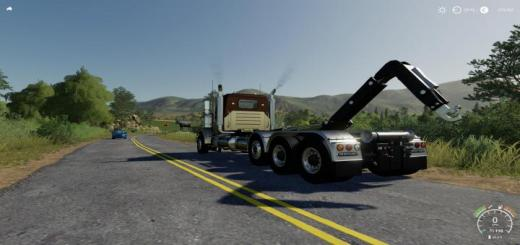 Photo of FS19 – Freightliner Fld120 Hooklift V1