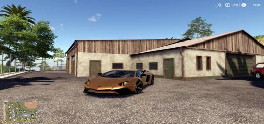 Photo of FS19 – Lamborghini Aventador Lp750-4 Sv V1.0