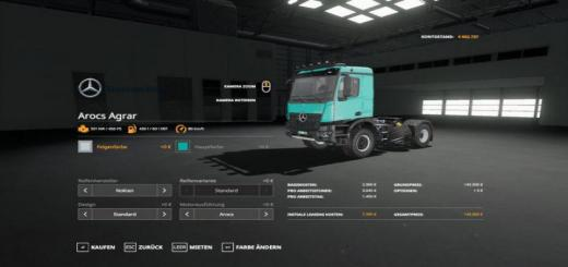 Photo of FS19 – Mercedes Arocs Agrar Final V4.0