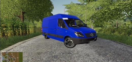 Photo of FS19 – Mercedes Sprinter V1