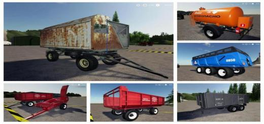 Photo of FS19 – Römork Paketi V1.0