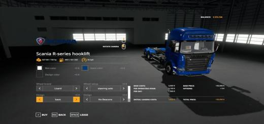 Photo of FS19 – Scania R-Serisi Hooklift V1.2