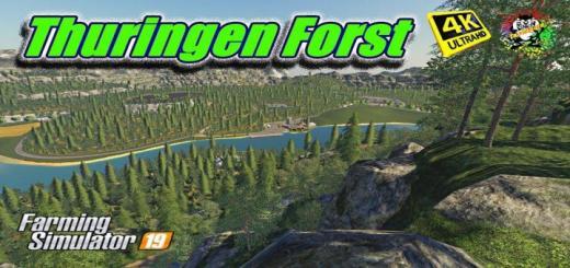 Photo of FS19 – Thuringen Orman Haritası V2