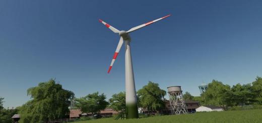 Photo of FS19 – Yerleştirilebilir Rüzgar Türbini V1.0