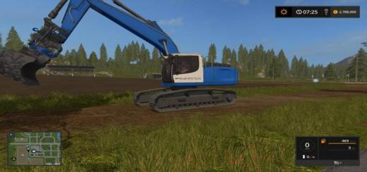 Photo of FS17 – Liebherr 936 Mavi Edition V1