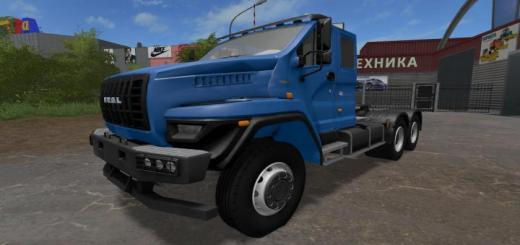 Photo of FS17 – Ural Next 6X4 V1.0