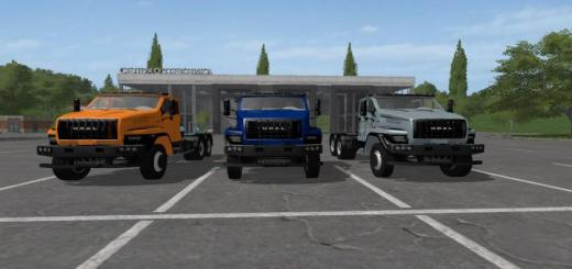 Photo of FS17 – Ural Next 6X4 V1.1.1