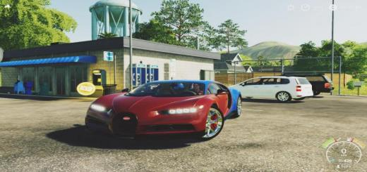 Photo of FS19 – Bugatti Chiron Sportfs19 V1.0