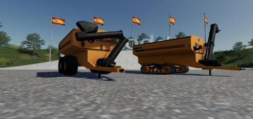 Photo of FS19 – Coolamon Chaser Bins 30T V1.0