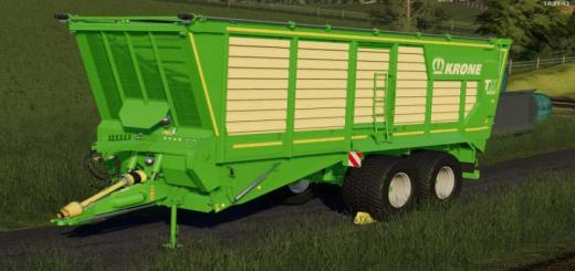 Photo of FS19 – [Fbm Team] Krone Tx 460 V1.0.0.0