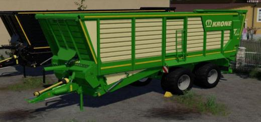 Photo of FS19 – [Fbm Team] Krone Tx 460D V1.0
