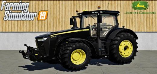 Photo of FS19 – John Deere 8R Serisi Siyah Traktör V1.0