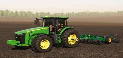 Photo of FS19 – John Deere 8R Traktör V1.0