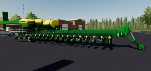Photo of FS19 – John Deere Db90 V1.0