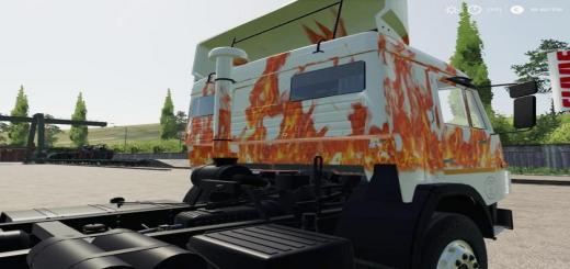 Photo of FS19 – Kamaz 53212 Fire V1.0
