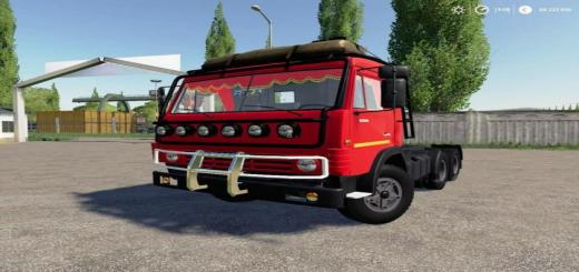 Photo of FS19 – Kamaz 53212 + Semi Römork V1.0.0.7