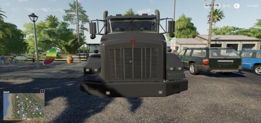 Photo of FS19 – Kenworth T800 Midnight Edition V1.0