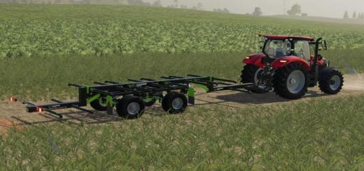 Photo of FS19 – Lizard Tr-10 Yuvarlak Balya Römorku V1