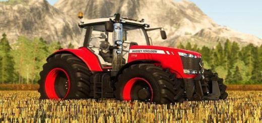 Photo of FS19 – Massey Ferguson 7700 Traktör V1.0