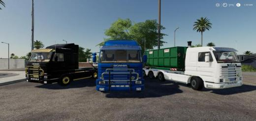 Photo of FS19 – Scania 143M Hooklift V1