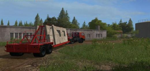 Photo of FS17 – Concrete Slab Römork V1.0