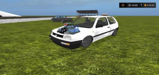 Photo of FS17 – Volkswagen Golf 3 V8 V1.0