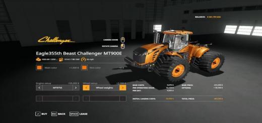 Photo of FS19 – Challenger Mt900E V1.0