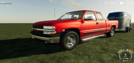 Photo of FS19 – Chevrolet Silverado 1500 99 V1.0