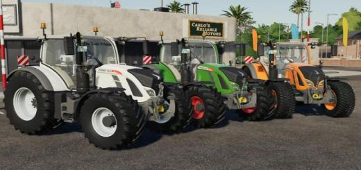 Photo of FS19 – Fendt Vario 700 V1.2