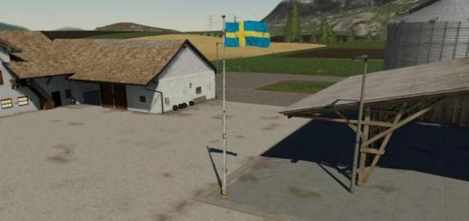 Photo of FS19 – İsveç Bayrağı (Prefabrik) V1