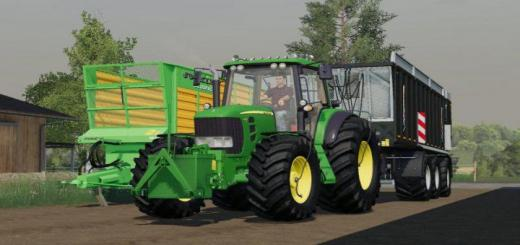 Photo of FS19 – John Deere 7030 V1.0