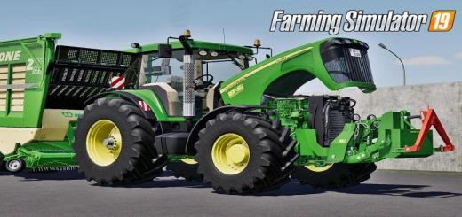 Photo of FS19 – John Deere 8020 Serisi V1.0