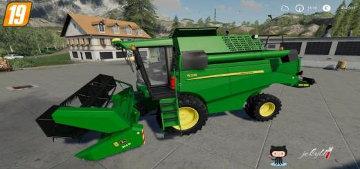 Photo of FS19 – John Deere W330 + 314R V1.0