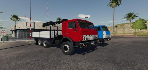 Photo of FS19 – Kamaz 55102 Manipulator V1.1
