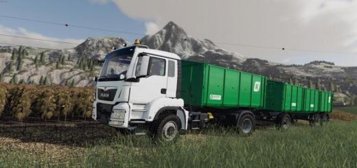 Photo of FS19 – Man Tgs Agrotruck & Kroger Hkd Paketi V1.0