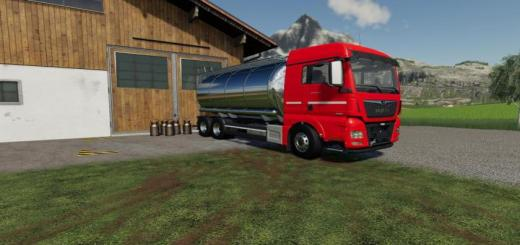 Photo of FS19 – Man Tgx Tanker V1.0