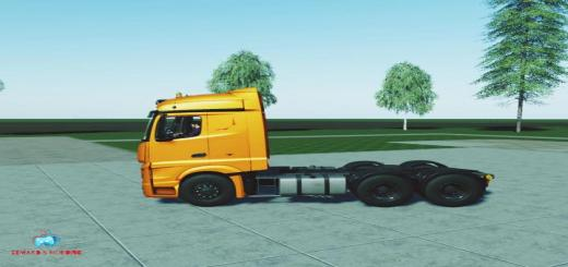 Photo of FS19 – Mercedes Actros Mp4 V1.0
