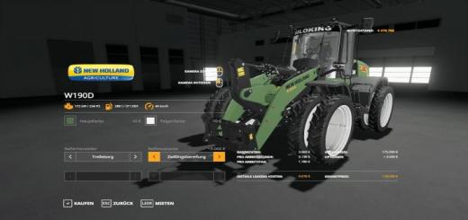 Photo of FS19 – New Holland W190D Siloking V1.0