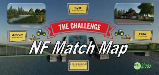 Photo of FS19 – Nf Match 4X Çiftlik Haritası V1.1