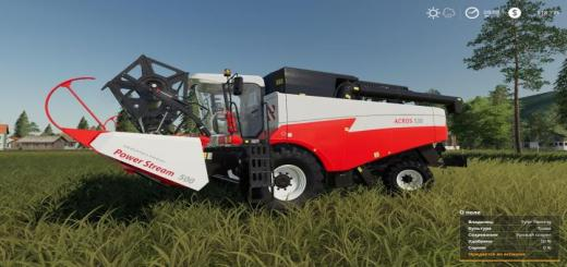 Photo of FS19 – Rostselmash Acros 595 Plus V1