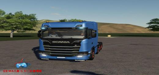 Photo of FS19 – Scania R730 8X4 V1.0