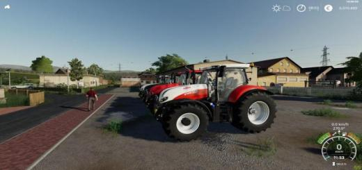 Photo of FS19 – Steyr Profi Cvt V1.0